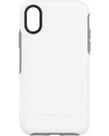 iPhone XS Max: Otterbox Symmetry series (White)