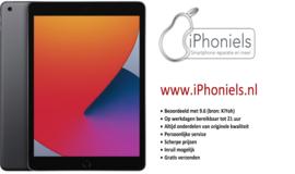"""(No.2673) iPad 10,2"""" (2020; 8e gen) Space Gray 128GB **gloednieuw**"""