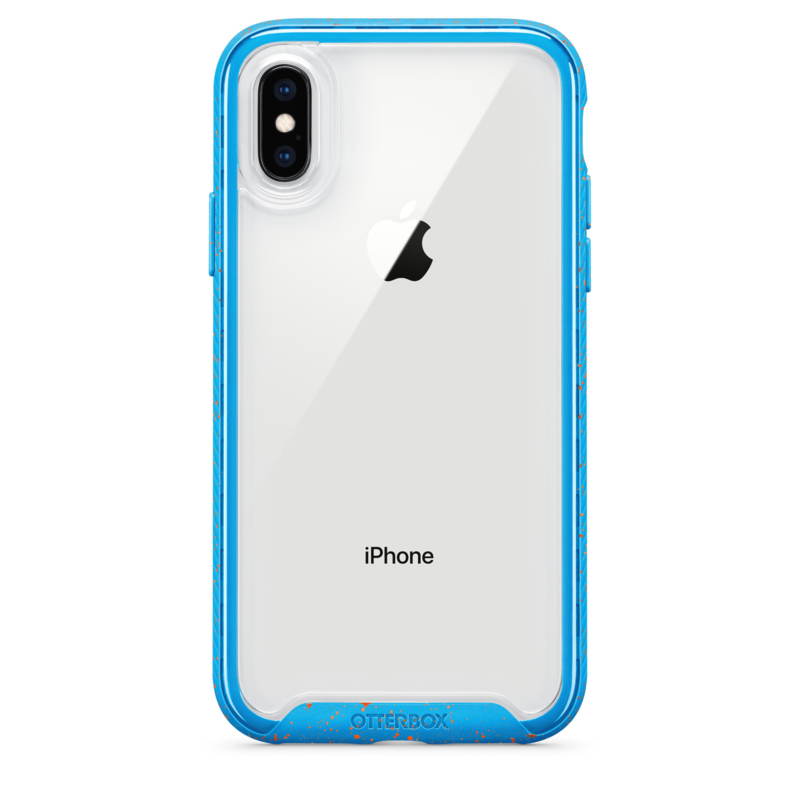iPhone XR Otterbox Traction series (electric tide / blauw)