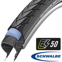 28x1.50 (40-622) Marathon Plus zwart RS Schwalbe