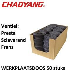 28x1 5/8x1 3/8 (35/50-622) FV 48mm (wp-doos 50 st)