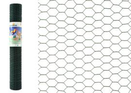 Zeskant Groen 25x0.50m