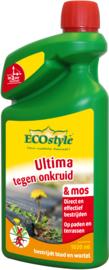 Ultima tegen onkruid & mos Ecostyle 1020ml