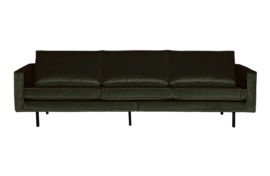 800543-156 | Rodeo bank 3-zits velvet dark green hunter | BePureHome