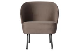 800748-N | Vogue fauteuil fluweel nougat | BePureHome