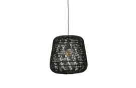 373291-Z | Moza hanglamp bamboe zwart | WOOOD Exclusive - Verwacht op 12-06!