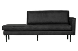 800746-Z | Rodeo daybed right zwart | BePureHome