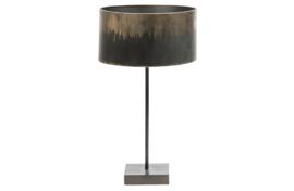 801007-Z | Blackout tafellamp metaal zwart | BePureHome - Verwacht op 11-12!