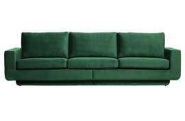 800093-162 | Fame bank 3-zits velvet green forest | BePureHome