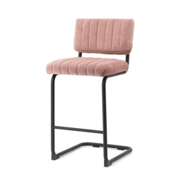 190902 | Bar chair low Operator - old pink | By-Boo