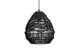377105-Z | Adelaide hanglamp zwart ø25cm | WOOOD Exclusive