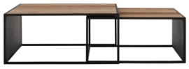CS 605528 | Cosmo Salontafel vierkant - set van 2 | DTP Home