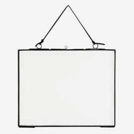IB-150454LBL | Hanging photo frame - black | Madam Stoltz