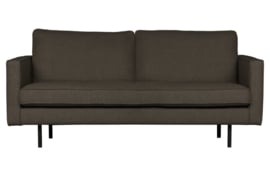 801542-W | Rodeo stretched bank 2,5-zits warm grey/brown | BePureHome