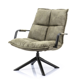 99661 | Fauteuil Mitchell - groen topper | Eleonora