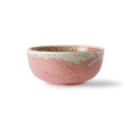 ACE6933 | Home chef ceramics: bowl rustic pink | HKliving