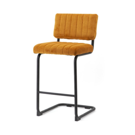 190903 | Bar chair low Operator - ochre | By-Boo