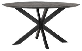 BT 611106 | Timeless Black eettafel Shape Ø150 cm - rond | DTP Home