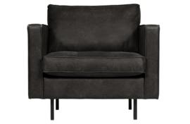 800888-Z | Rodeo classic fauteuil zwart | BePureHome