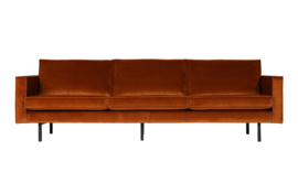 800543-126 | Rodeo bank 3-zits velvet roest | BePureHome