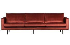 800543-205 | Rodeo bank 3-zits velvet chestnut | BePureHome