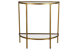 800889-A | Goddess sidetable antique brass | BePureHome
