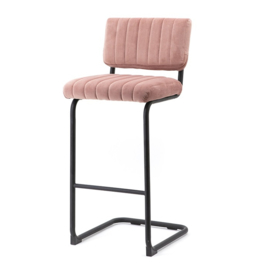190912 | Bar chair high Operator - old pink | By-Boo