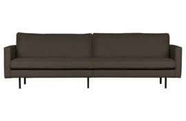 801543-W | Rodeo stretched bank 3-zits warm grey/brown | BePureHome