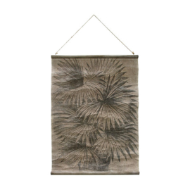 AWD8855 | Vintage wall chart: palm leaves | HKLiving