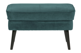 340457-198 | Rocco hocker fluweel teal | WOOOD