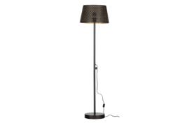 377282-Z | Kars vloerlamp metaal zwart/antique brass | WOOOD Exclusive - Verwacht op 06-08!