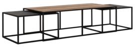 CS 605530 | Cosmo Salontafelset langwerpig - set van 3 | DTP Home