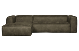 375689-A | Bean hoekbank links - army | WOOOD