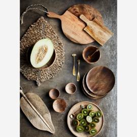 CP-01-L | Wooden serving dish | MadamStoltz