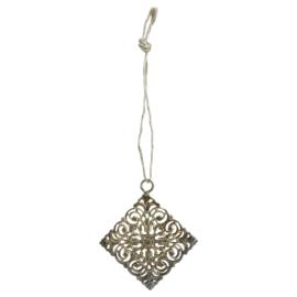 704533 | Xmas Daley gold iron antique hanger diamond | PTMD - Verwacht vanaf week 43!