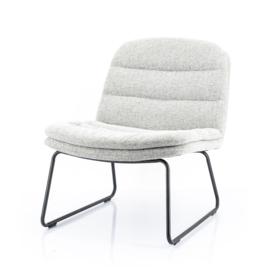 210034 | Lounge chair Bermo - light grey | By-Boo