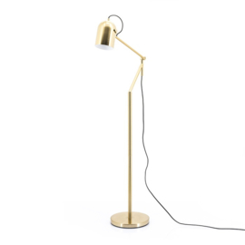 210052 | Floor lamp Sleek - gold | By-Boo