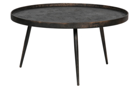 800948-G | Bounds bijzettafel xl metaal antique goud 40xø76 | BePureHome - back in stock 13-12