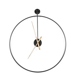 210086   Klok Sundial large - black   By-Boo