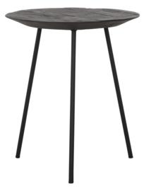 HI 301151 | Salontafel Jupiter zwart small - Ø40 cm  | DTP Home