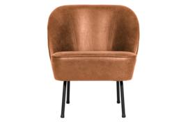 800748-B | Vogue fauteuil leer cognac | BePureHome