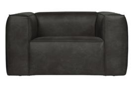 377316-Z | Bean fauteuil - zwart | WOOOD
