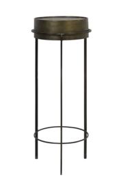 6747318 | Zuil Ø38,5x100 cm TENCE antiek brons | Light & Living