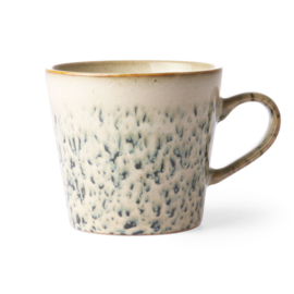 ACE6866 | Ceramic 70's cappuccino mug: hail | HKliving