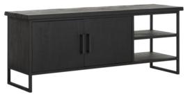 BT 438094 | Timeless Black TV meubel Beam No.2 small - 140 cm | DTP Home