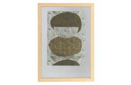 377095-N | Blake fotolijst met houten rand naturel 70x50 | WOOOD Exclusive