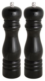1740-24 | Salt/pepper mill black, set v/2 | IB Laursen