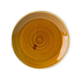 ACE6979 | Kyoto ceramics: japanese dinner plate brown | HKliving - Binnenkort weer verwacht!