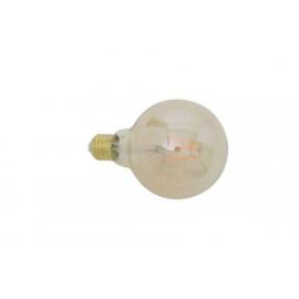 9900415 | LED kogel Ø9,5x14 cm LIGHT 4W amber E27 dimbaar | Light & Living