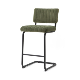 190901 | Bar chair low Operator - green | By-Boo
